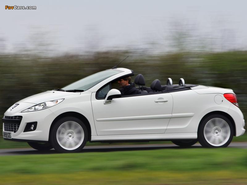 Photos of Peugeot 207 CC UK-spec 2009 (800 x 600)