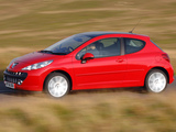Pictures of Peugeot 207 3-door UK-spec 2006–09