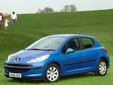 Pictures of Peugeot 207 5-door UK-spec 2006–09