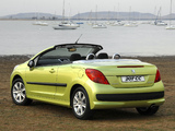 Pictures of Peugeot 207 CC ZA-spec 2007–10