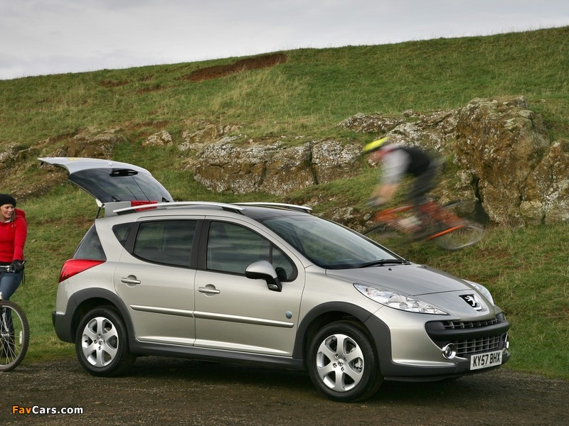 Pictures of Peugeot 207 SW Outdoor UK-spec 2007–09 (800 x 600)