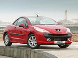 Pictures of Peugeot 207 CC UK-spec 2007–09