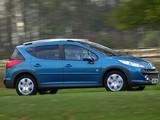 Pictures of Peugeot 207 SW Outdoor UK-spec 2007–09