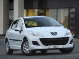Pictures of Peugeot 207 5-door ZA-spec 2009–12