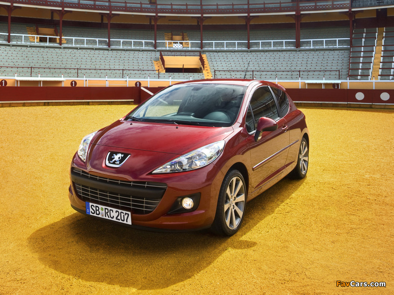 Pictures of Peugeot 207 RC 2009 (800 x 600)