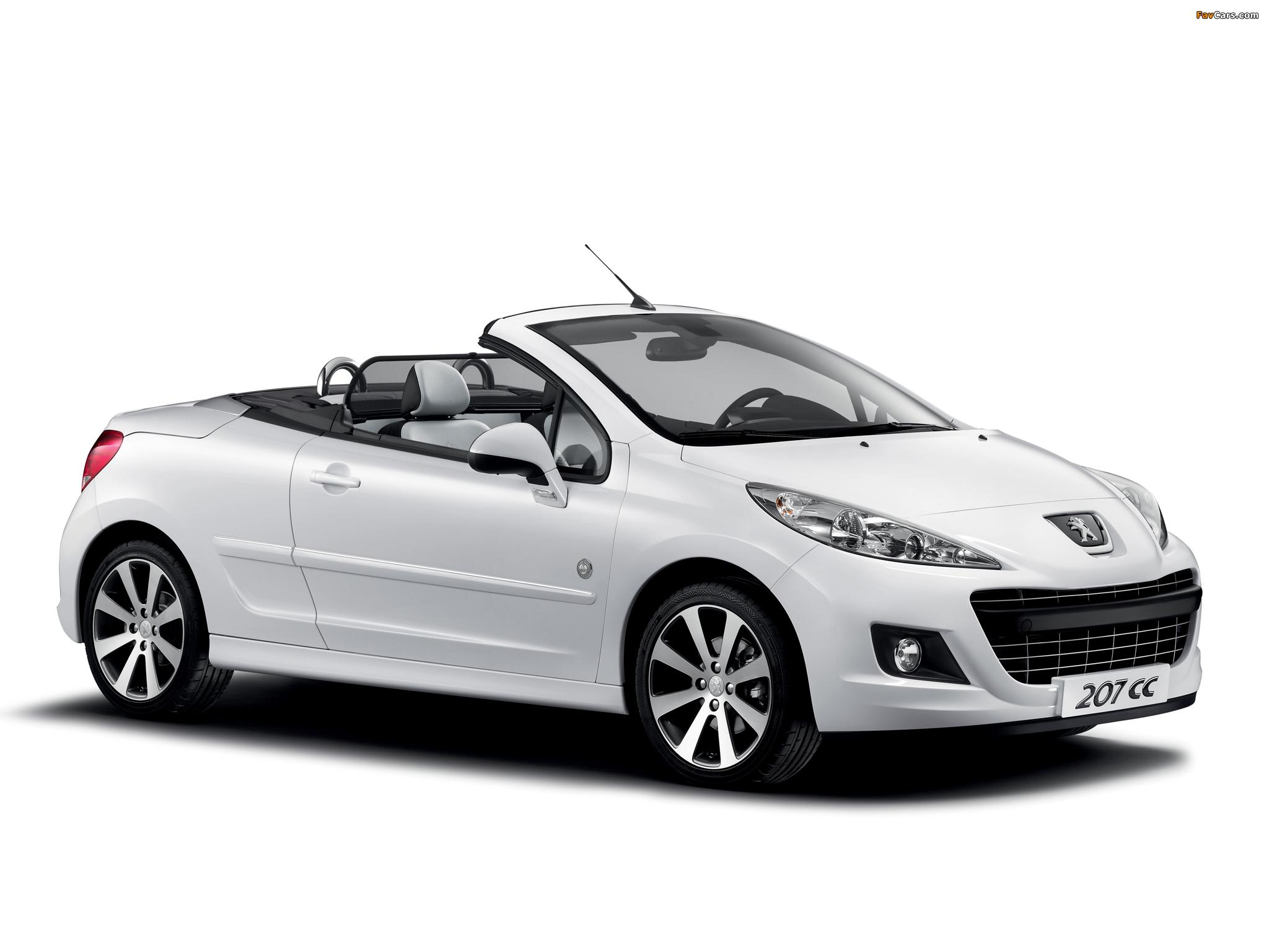 Pictures of Peugeot 207 CC Roland Garros 2011 (2048 x 1536)