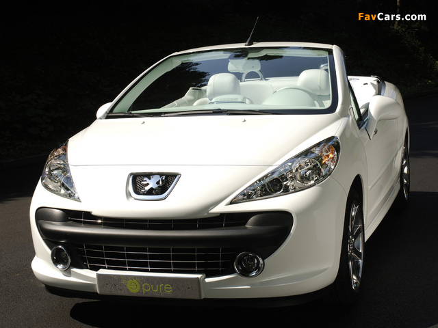 Peugeot 207 Epure Concept 2006 wallpapers (640 x 480)