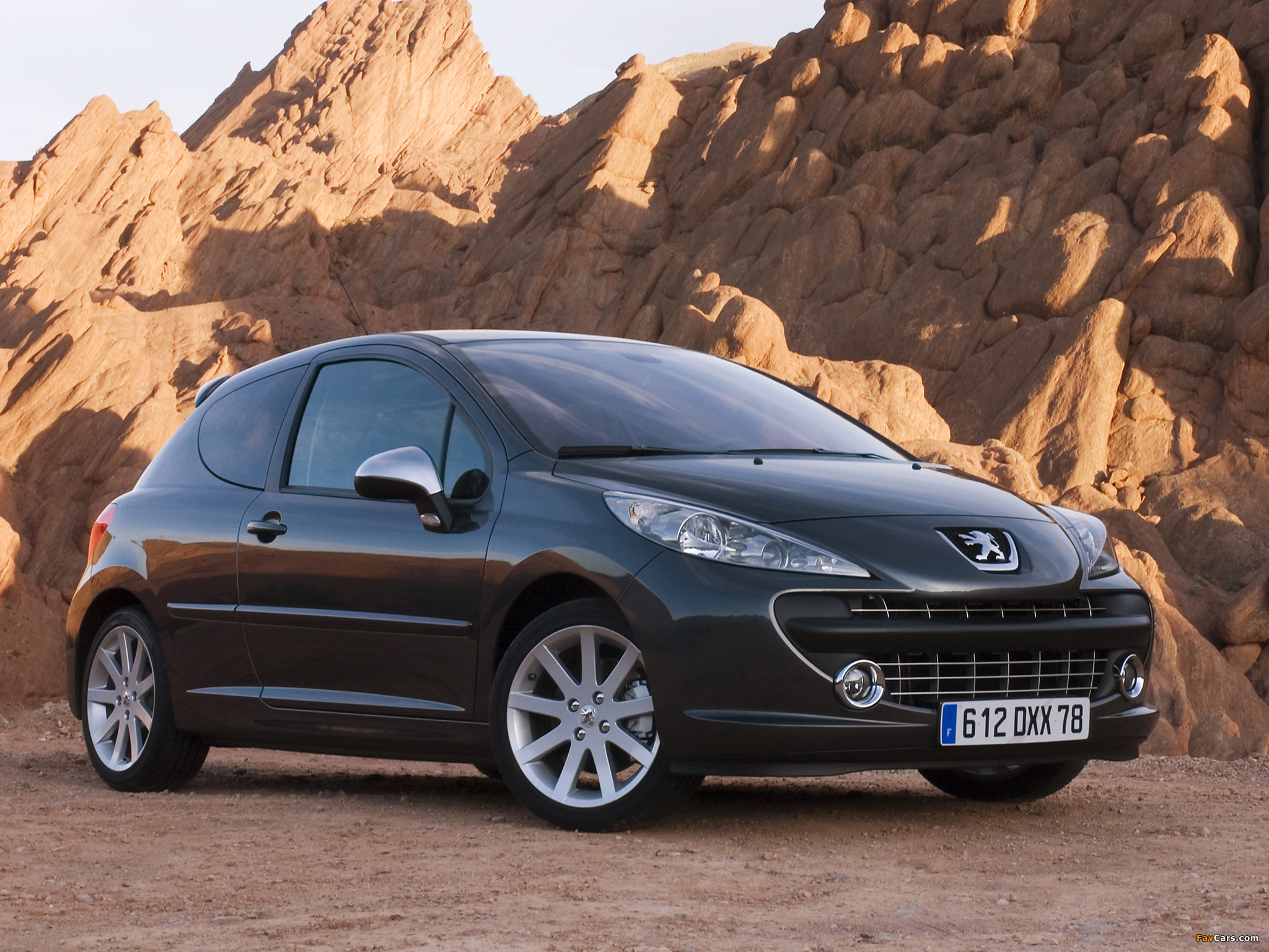 Peugeot 207 RC 2007–09 wallpapers (2048 x 1536)