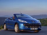 Peugeot 207 CC 2007–09 wallpapers