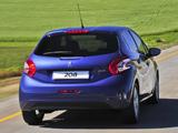 Images of Peugeot 208 5-door ZA-spec 2012