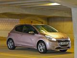 Images of Peugeot 208 3-door UK-spec 2012