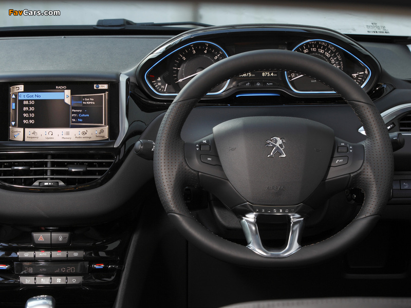 Images of Peugeot 208 3-door AU-spec 2012 (800 x 600)