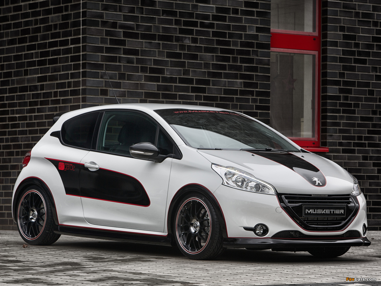 Images of Musketier Peugeot 208 Engarde 2013 (1280 x 960)