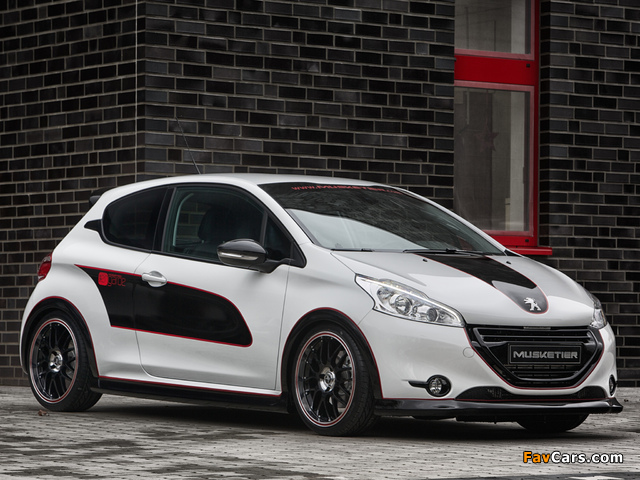 Images of Musketier Peugeot 208 Engarde 2013 (640 x 480)