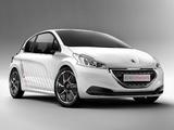 Images of Peugeot 208 HYbrid FE Concept 2013