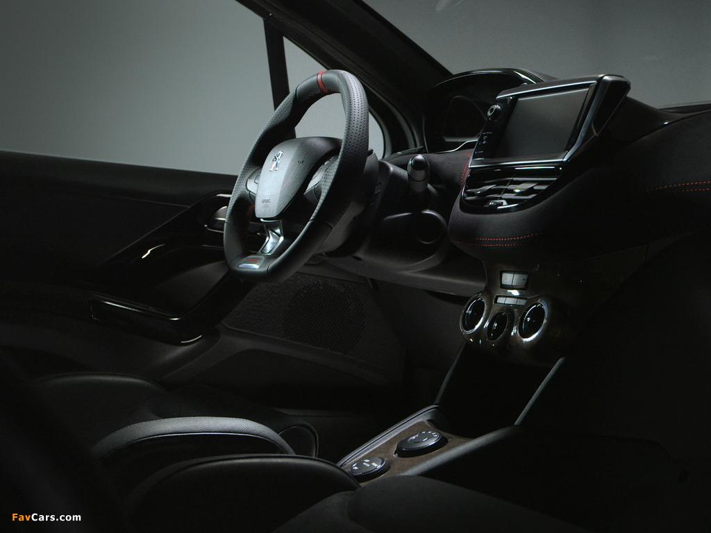 Images of Peugeot 208 HYbrid FE Concept 2013 (1024 x 768)