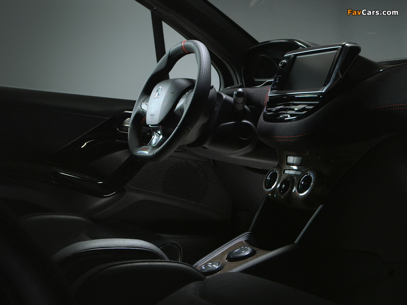 Images of Peugeot 208 HYbrid FE Concept 2013 (800 x 600)