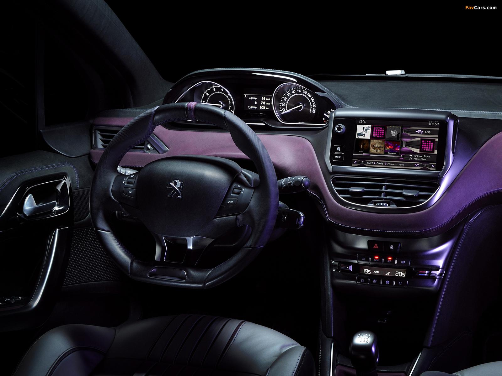 Peugeot 208 XY Concept 2012 photos (1600 x 1200)