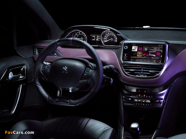 Peugeot 208 XY Concept 2012 photos (640 x 480)