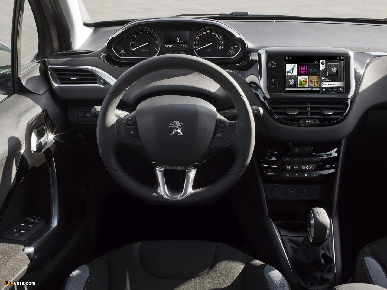 Peugeot 208 3-door 2012 photos (1280 x 960)