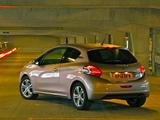 Peugeot 208 3-door UK-spec 2012 photos