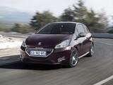 Peugeot 208 XY 3-door 2012 pictures