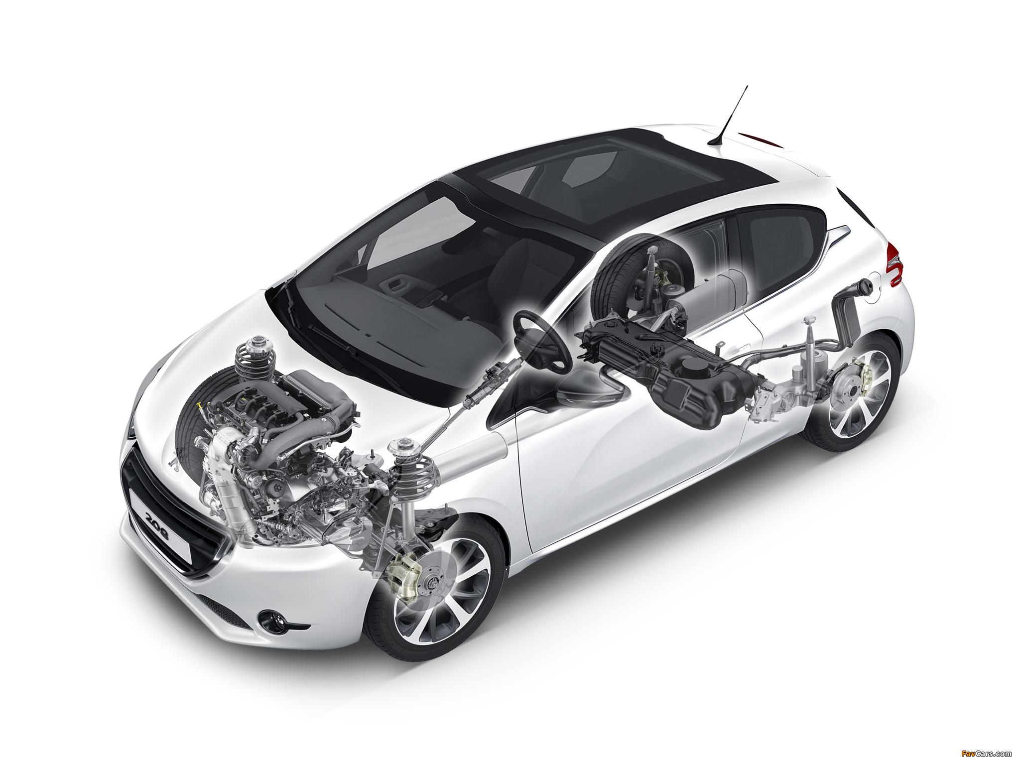 Peugeot 208 3-door 2012 pictures (2048 x 1536)