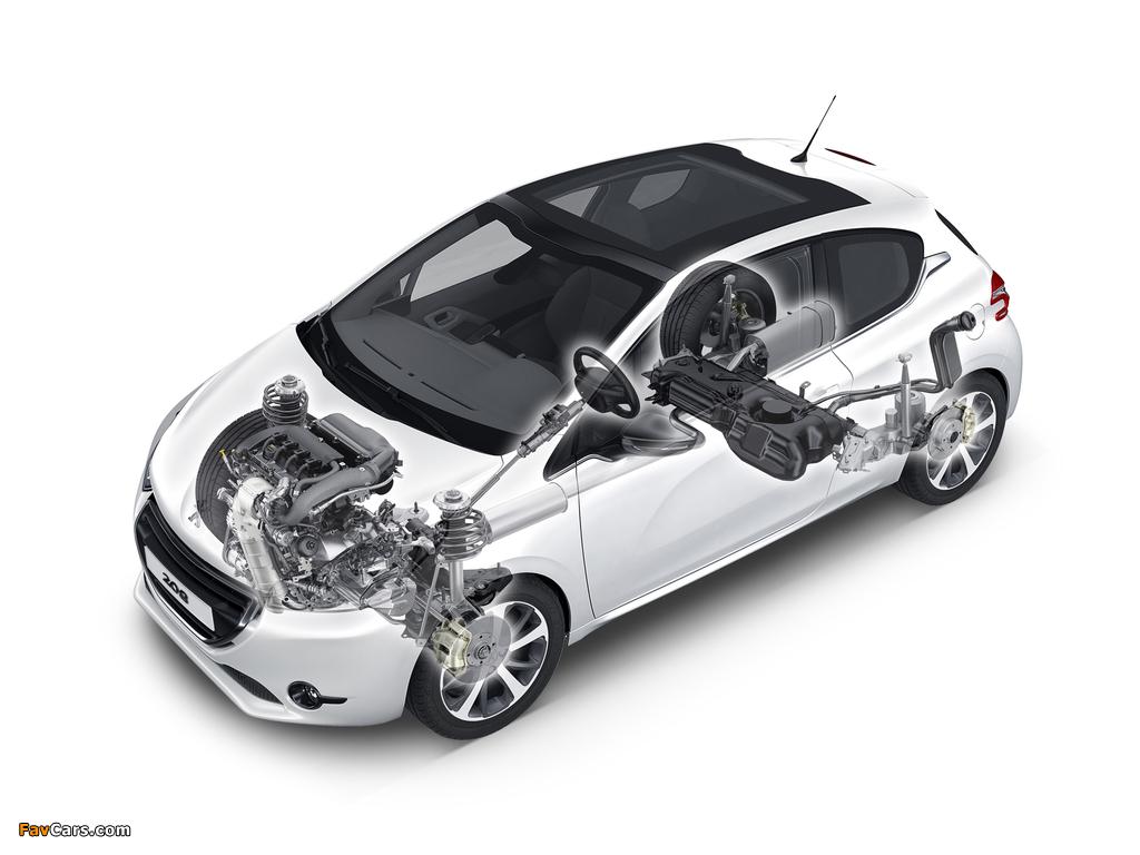Peugeot 208 3-door 2012 pictures (1024 x 768)