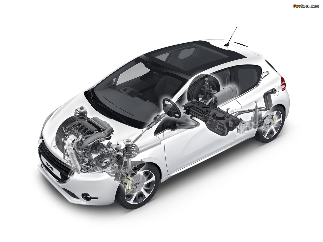 Peugeot 208 3-door 2012 pictures (1280 x 960)