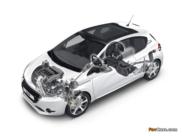 Peugeot 208 3-door 2012 pictures (640 x 480)