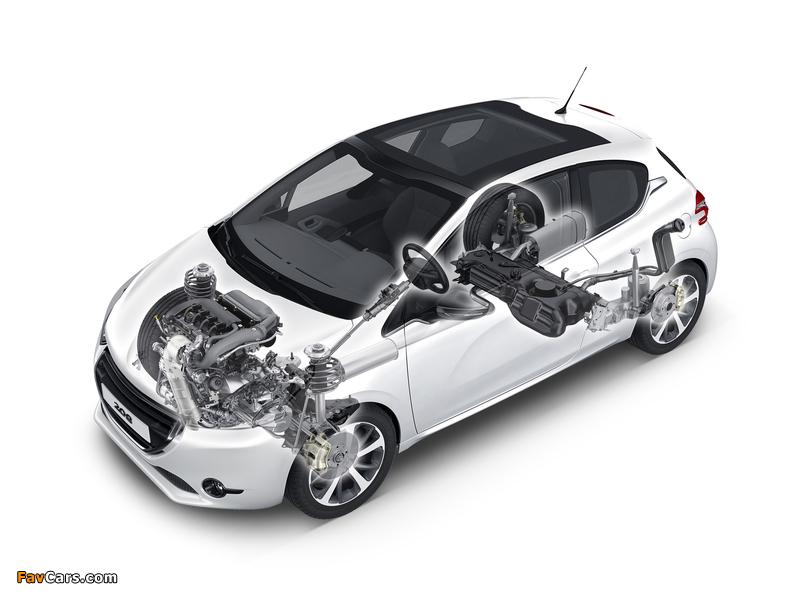 Peugeot 208 3-door 2012 pictures (800 x 600)