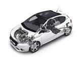 Peugeot 208 3-door 2012 pictures