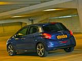 Peugeot 208 5-door UK-spec 2012 wallpapers