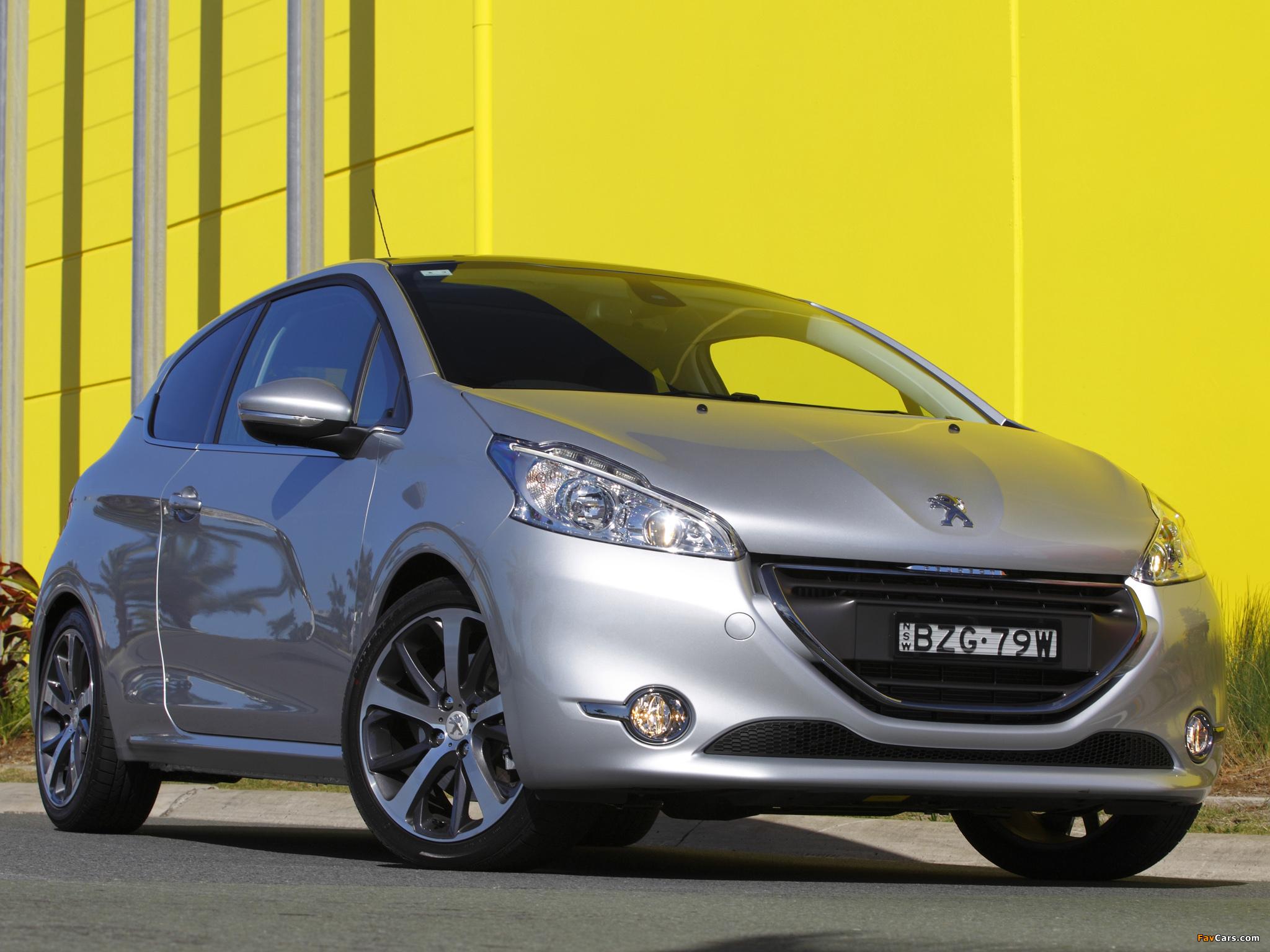 Peugeot 208 3-door AU-spec 2012 wallpapers (2048 x 1536)
