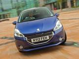Peugeot 208 3-door UK-spec 2012 wallpapers