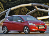 Peugeot 208 GTi ZA-spec 2013 photos