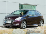 Peugeot 208 XY 3-door UK-spec 2013 photos