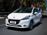 Peugeot 208 BR-spec 2013 photos