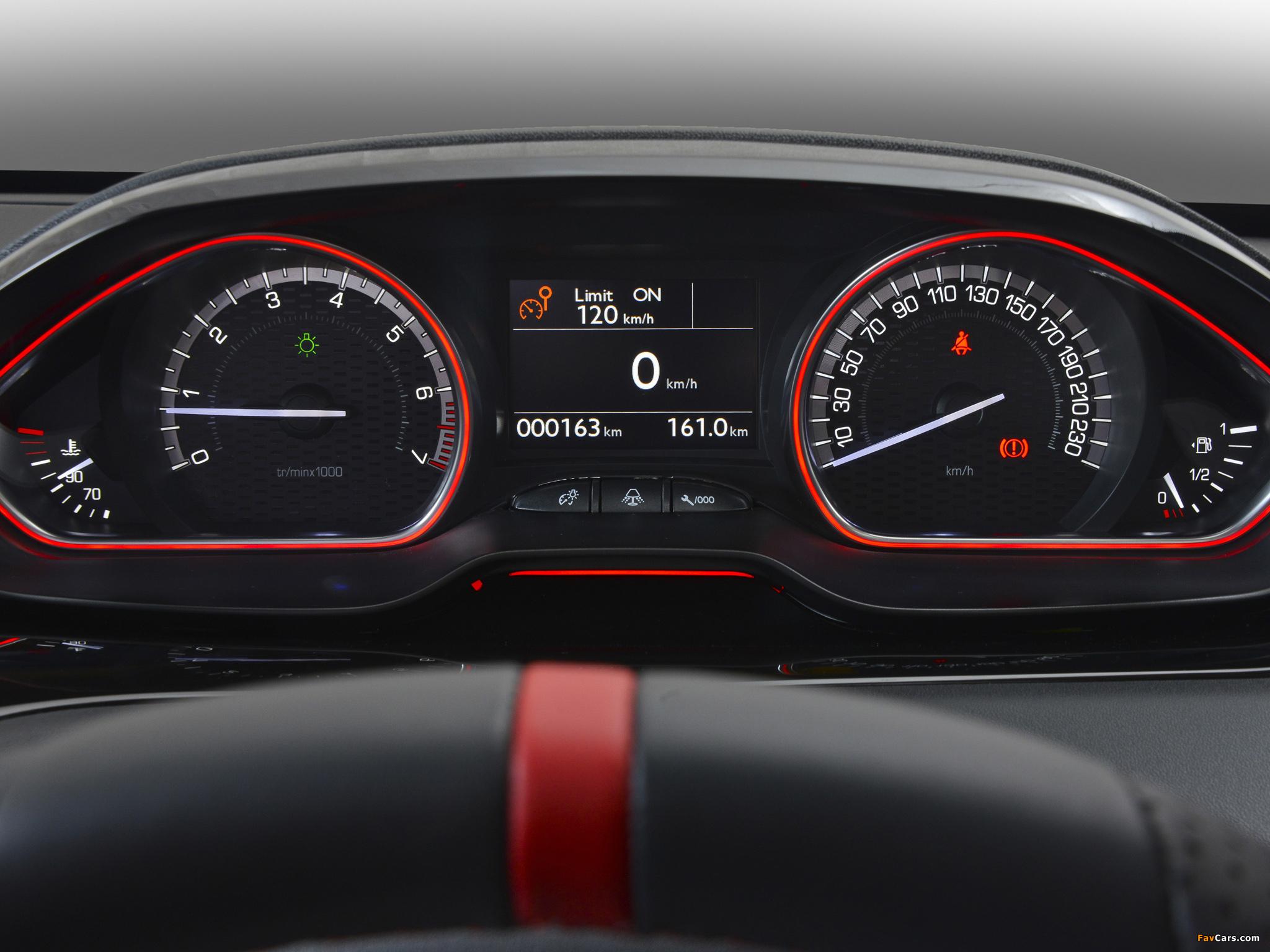 Peugeot 208 GTi ZA-spec 2013 photos (2048 x 1536)