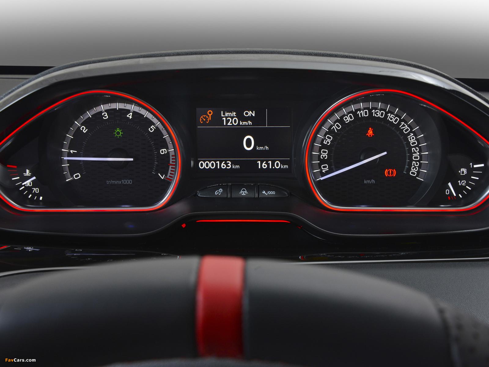 Peugeot 208 GTi ZA-spec 2013 photos (1600 x 1200)