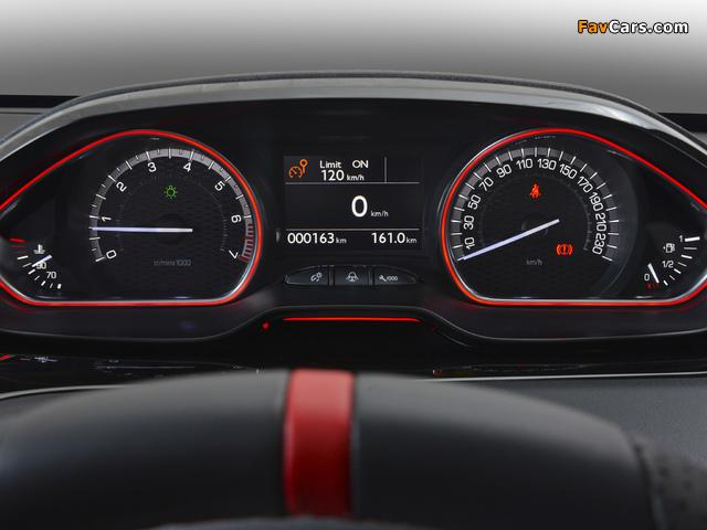 Peugeot 208 GTi ZA-spec 2013 photos (640 x 480)