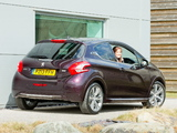 Peugeot 208 XY 3-door UK-spec 2013 pictures
