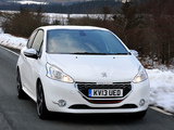 Peugeot 208 GTi UK-spec 2013 wallpapers