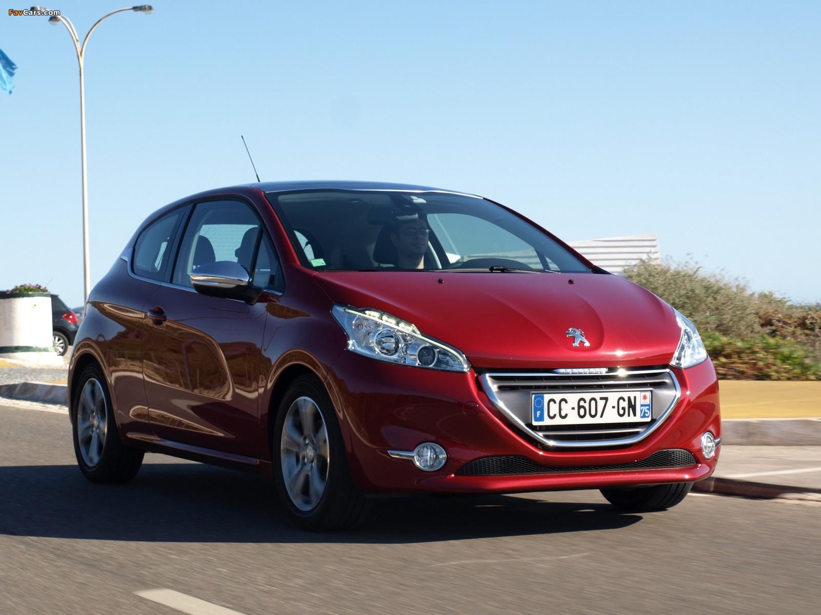 Photos of Peugeot 208 3-door 2012 (1600 x 1200)