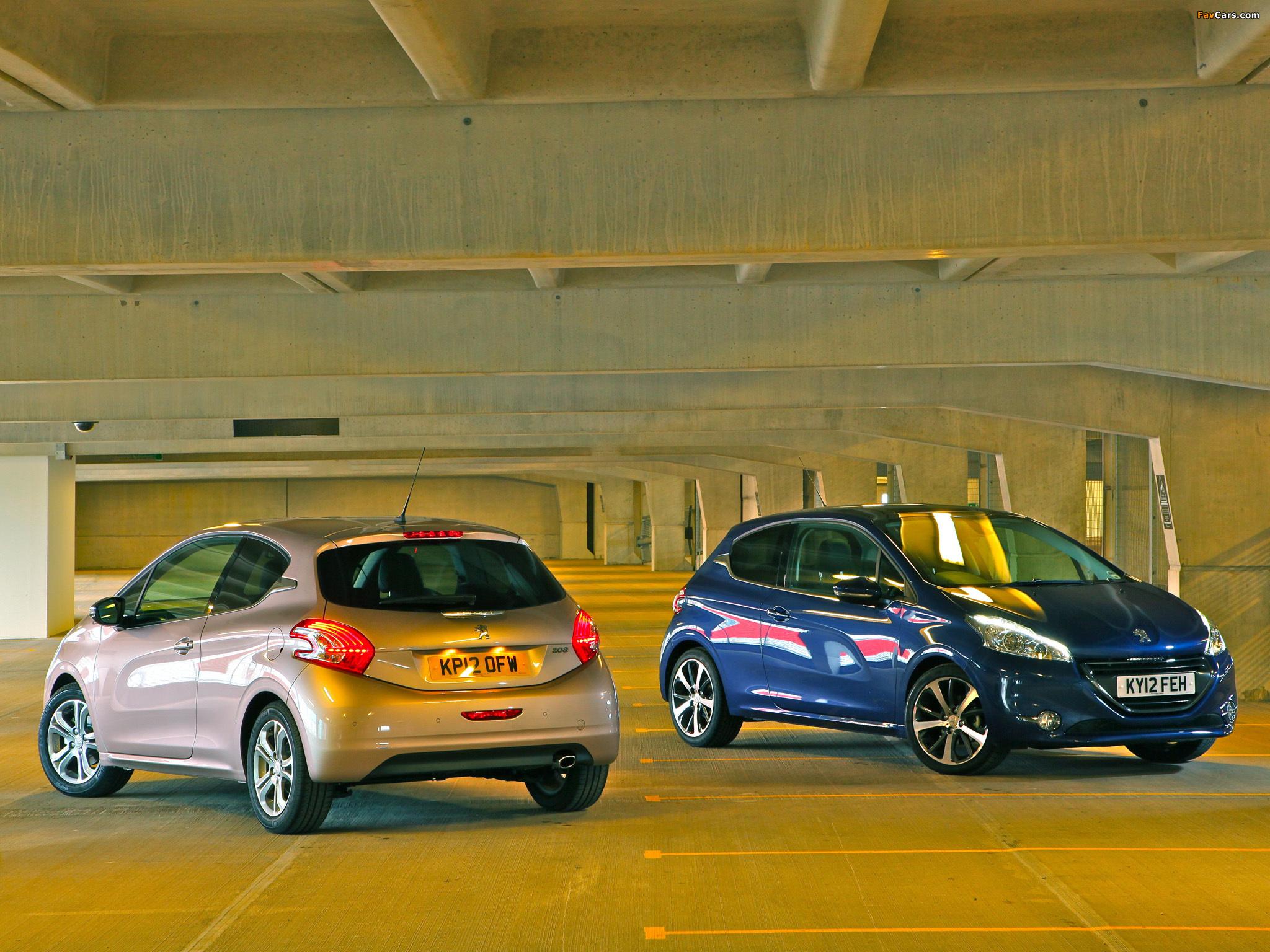 Photos of Peugeot 208 3-door UK-spec 2012 (2048 x 1536)