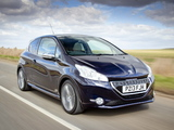 Photos of Peugeot 208 XY 3-door UK-spec 2013