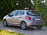 Pictures of Peugeot 208 Fahrschule 5-door 2012