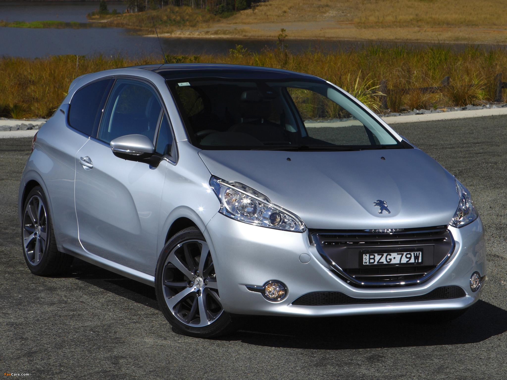Pictures of Peugeot 208 3-door AU-spec 2012 (2048 x 1536)