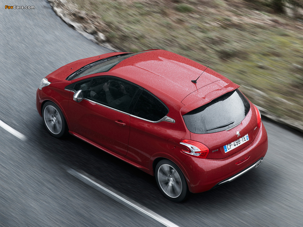 Pictures of Peugeot 208 GTi 2012 (1024 x 768)