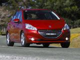 Pictures of Peugeot 208 5-door AU-spec 2012